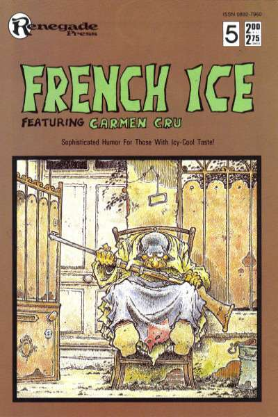 French Ice #5 Comic Books - Covers, Scans, Photos  in French Ice Comic Books - Covers, Scans, Gallery