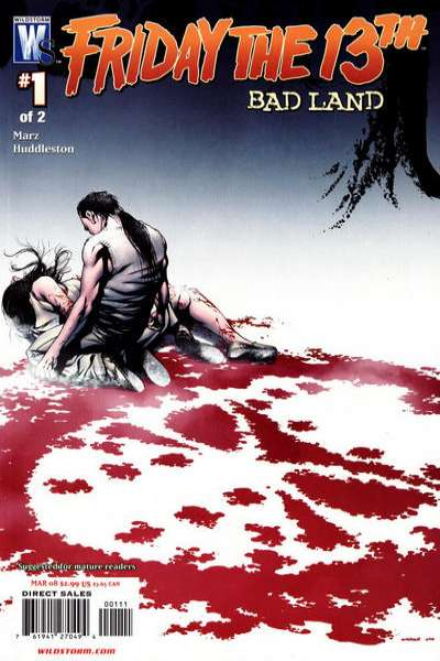 Friday the 13th: Bad Land #1 comic books - cover scans photos Friday the 13th: Bad Land #1 comic books - covers, picture gallery