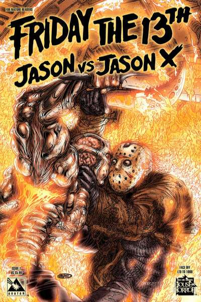 Friday the 13th: Jason vs. Jason X comic books