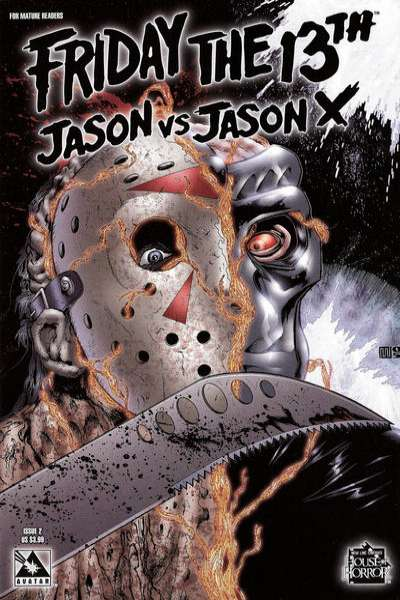 Friday the 13th: Jason vs. Jason X #2 Comic Books - Covers, Scans, Photos  in Friday the 13th: Jason vs. Jason X Comic Books - Covers, Scans, Gallery