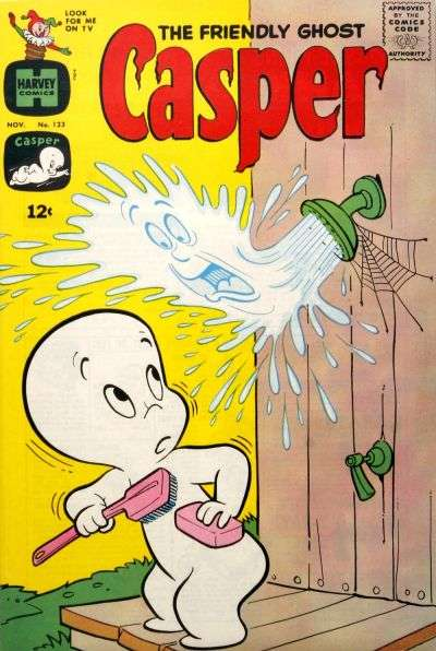 Friendly Ghost Casper #123 Comic Books - Covers, Scans, Photos  in Friendly Ghost Casper Comic Books - Covers, Scans, Gallery