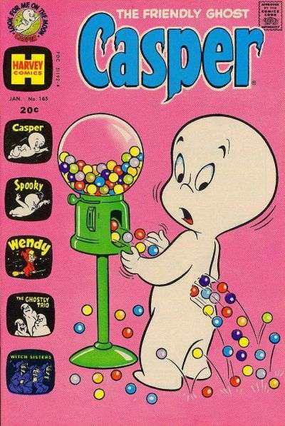 Friendly Ghost Casper #165 Comic Books - Covers, Scans, Photos  in Friendly Ghost Casper Comic Books - Covers, Scans, Gallery