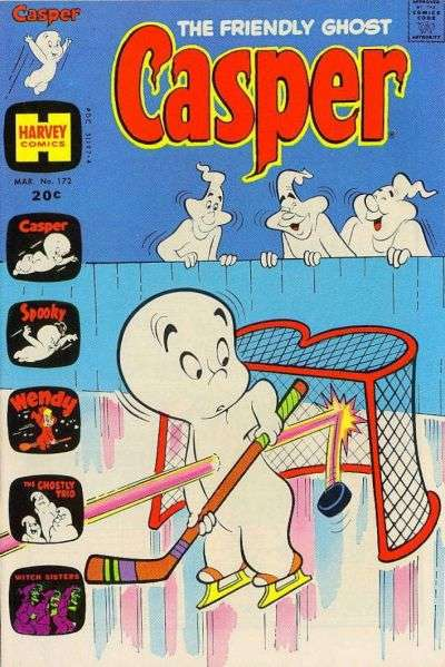 Friendly Ghost Casper #172 comic books for sale