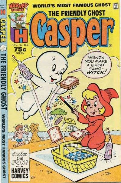 Friendly Ghost Casper #226 comic books for sale