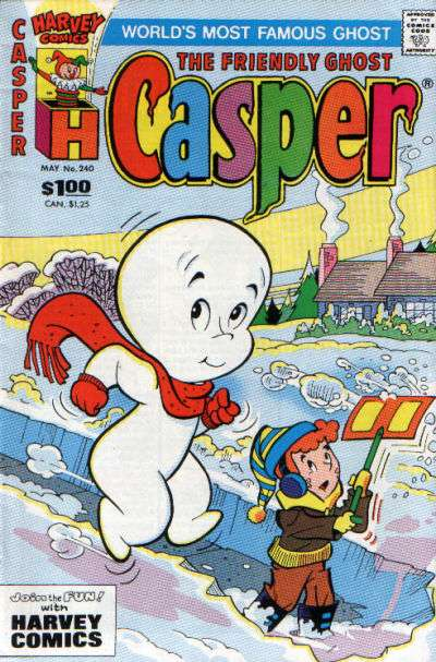 Friendly Ghost Casper #240 comic books for sale