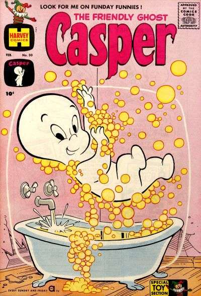 Friendly Ghost Casper #30 Comic Books - Covers, Scans, Photos  in Friendly Ghost Casper Comic Books - Covers, Scans, Gallery