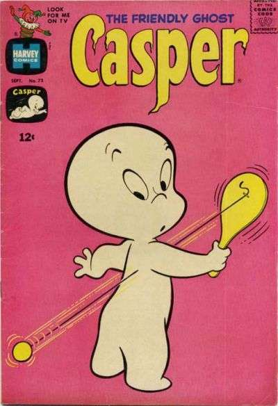 Friendly Ghost Casper #73 comic books for sale