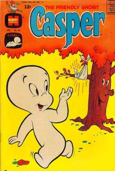 Friendly Ghost Casper #88 comic books for sale