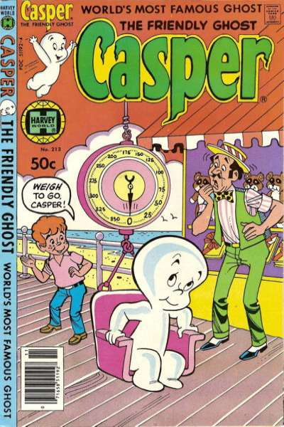 Friendly Ghost Casper #213 Comic Books - Covers, Scans, Photos  in Friendly Ghost Casper Comic Books - Covers, Scans, Gallery