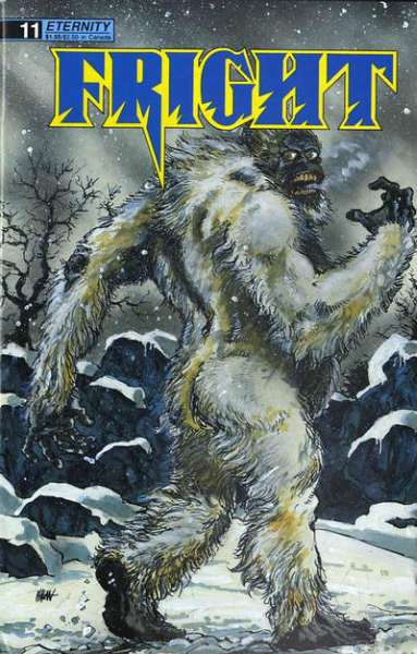 Fright #11 Comic Books - Covers, Scans, Photos  in Fright Comic Books - Covers, Scans, Gallery