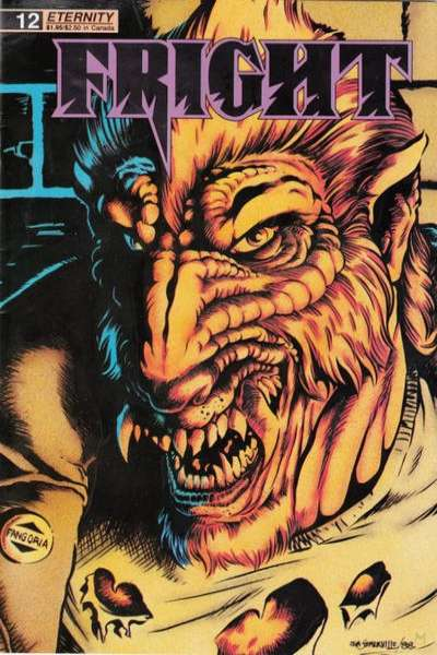 Fright #12 Comic Books - Covers, Scans, Photos  in Fright Comic Books - Covers, Scans, Gallery