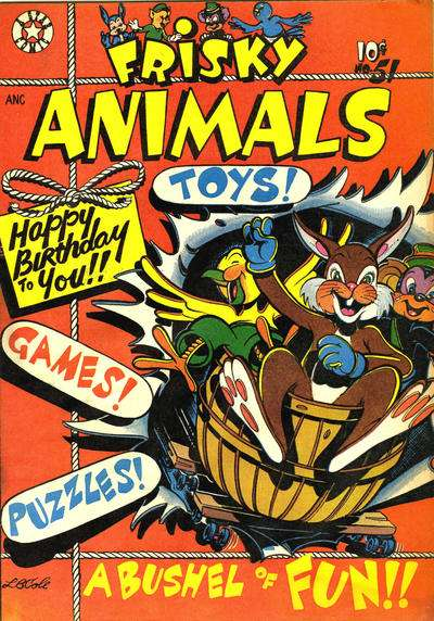 Frisky Animals #51 comic books - cover scans photos Frisky Animals #51 comic books - covers, picture gallery