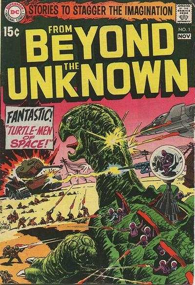 From Beyond the Unknown comic books