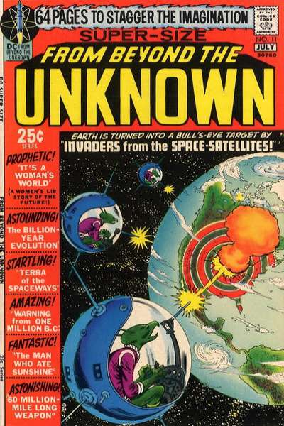 From Beyond the Unknown #11 Comic Books - Covers, Scans, Photos  in From Beyond the Unknown Comic Books - Covers, Scans, Gallery