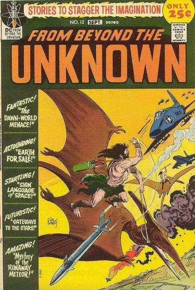 From Beyond the Unknown #12 Comic Books - Covers, Scans, Photos  in From Beyond the Unknown Comic Books - Covers, Scans, Gallery