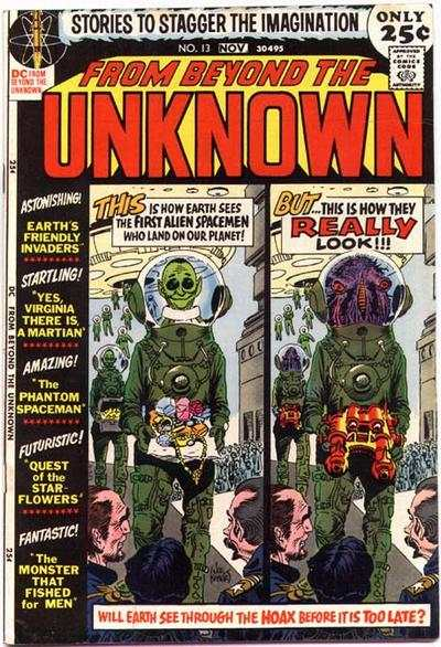 From Beyond the Unknown #13 comic books - cover scans photos From Beyond the Unknown #13 comic books - covers, picture gallery