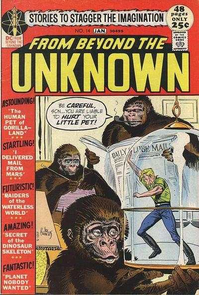 From Beyond the Unknown #14 Comic Books - Covers, Scans, Photos  in From Beyond the Unknown Comic Books - Covers, Scans, Gallery
