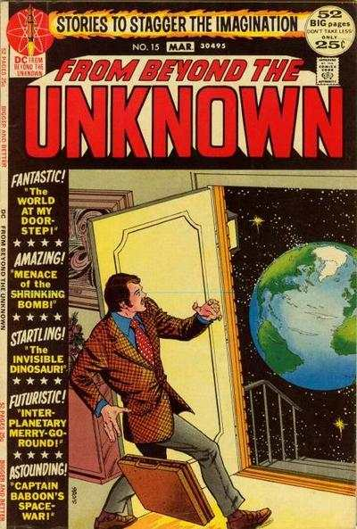 From Beyond the Unknown #15 Comic Books - Covers, Scans, Photos  in From Beyond the Unknown Comic Books - Covers, Scans, Gallery