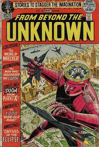 From Beyond the Unknown #16 comic books - cover scans photos From Beyond the Unknown #16 comic books - covers, picture gallery