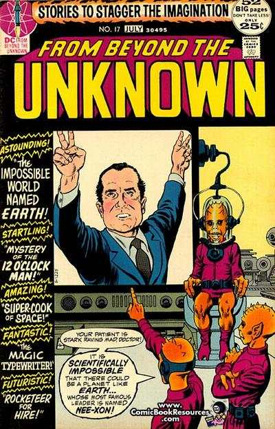 From Beyond the Unknown #17 comic books for sale