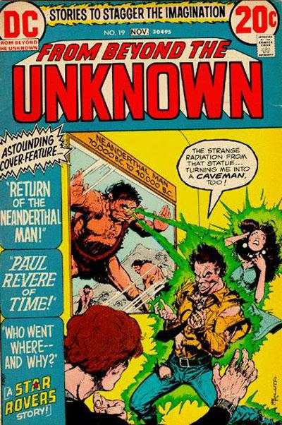 From Beyond the Unknown #19 comic books for sale