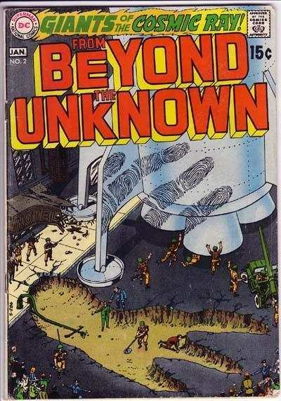 From Beyond the Unknown #2 Comic Books - Covers, Scans, Photos  in From Beyond the Unknown Comic Books - Covers, Scans, Gallery