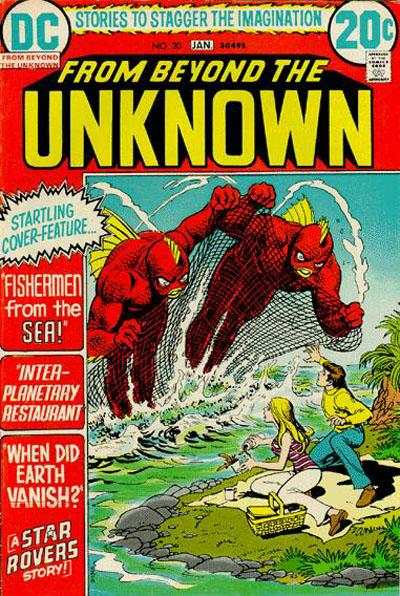 From Beyond the Unknown #20 comic books - cover scans photos From Beyond the Unknown #20 comic books - covers, picture gallery