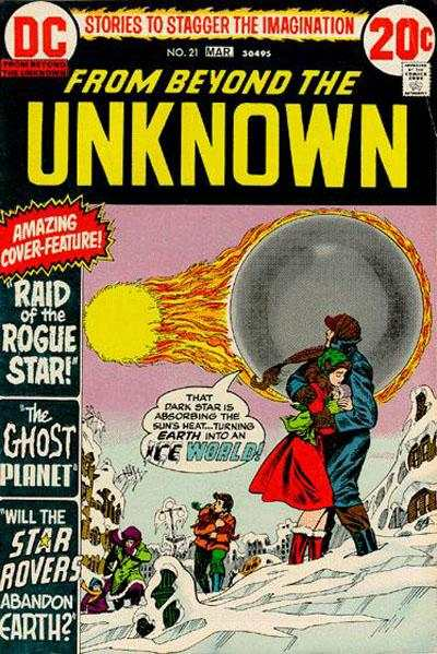 From Beyond the Unknown #21 comic books - cover scans photos From Beyond the Unknown #21 comic books - covers, picture gallery