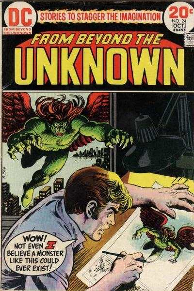 From Beyond the Unknown #24 comic books - cover scans photos From Beyond the Unknown #24 comic books - covers, picture gallery