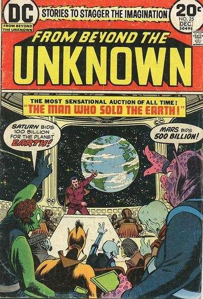 From Beyond the Unknown #25 comic books for sale