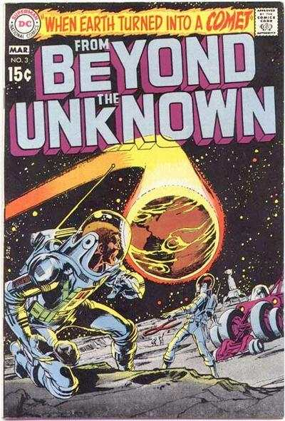 From Beyond the Unknown #3 comic books - cover scans photos From Beyond the Unknown #3 comic books - covers, picture gallery