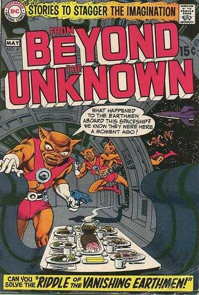 From Beyond the Unknown #4 comic books - cover scans photos From Beyond the Unknown #4 comic books - covers, picture gallery