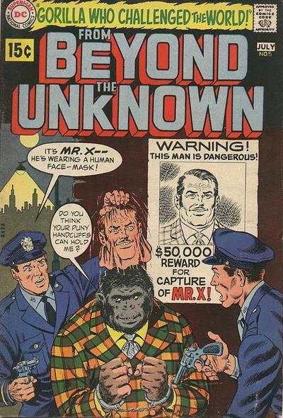 From Beyond the Unknown #5 Comic Books - Covers, Scans, Photos  in From Beyond the Unknown Comic Books - Covers, Scans, Gallery