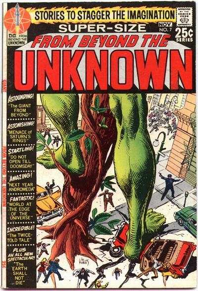 From Beyond the Unknown #7 comic books - cover scans photos From Beyond the Unknown #7 comic books - covers, picture gallery