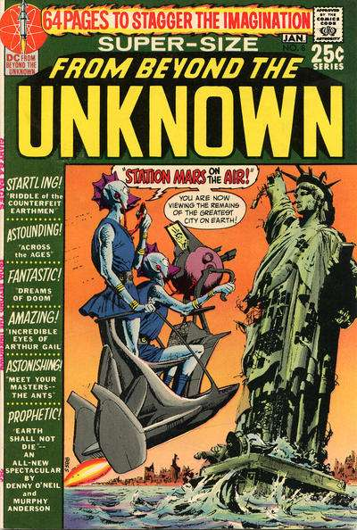 From Beyond the Unknown #8 comic books - cover scans photos From Beyond the Unknown #8 comic books - covers, picture gallery