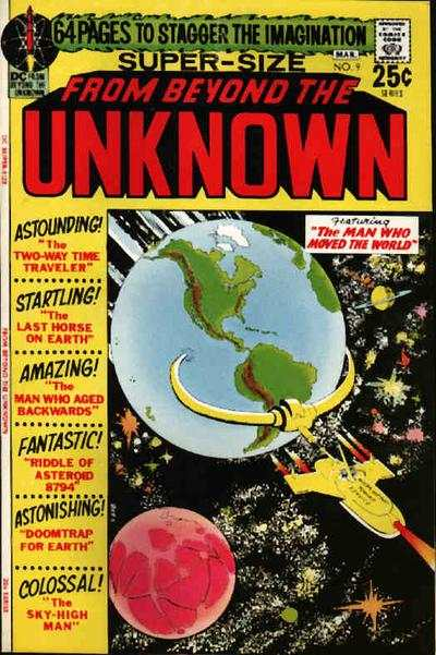 From Beyond the Unknown #9 comic books - cover scans photos From Beyond the Unknown #9 comic books - covers, picture gallery