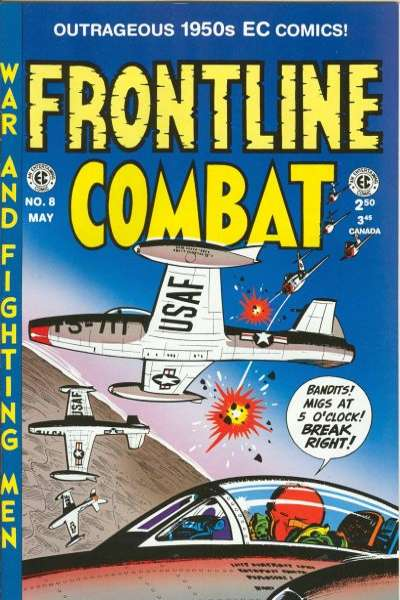 Frontline Combat #8 Comic Books - Covers, Scans, Photos  in Frontline Combat Comic Books - Covers, Scans, Gallery