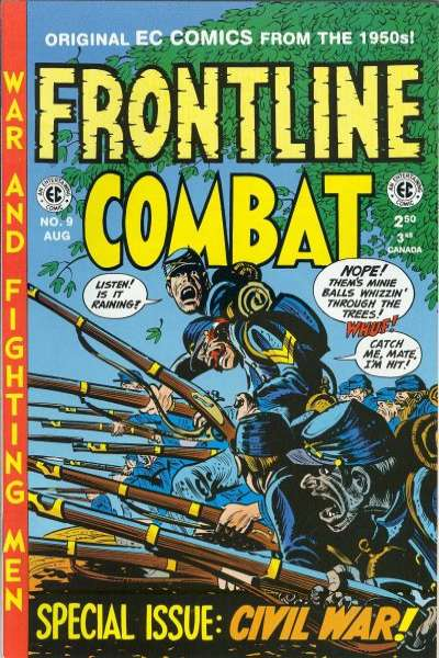 Frontline Combat #9 Comic Books - Covers, Scans, Photos  in Frontline Combat Comic Books - Covers, Scans, Gallery