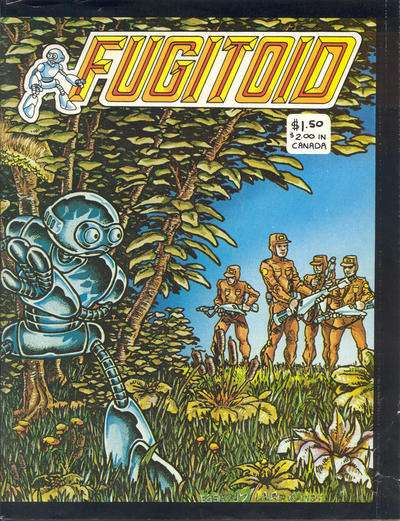 Fugitoid Comic Books. Fugitoid Comics.
