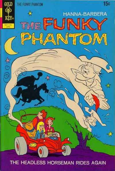 Funky Phantom #2 Comic Books - Covers, Scans, Photos  in Funky Phantom Comic Books - Covers, Scans, Gallery