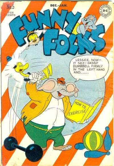 Funny Folks #5 Comic Books - Covers, Scans, Photos  in Funny Folks Comic Books - Covers, Scans, Gallery