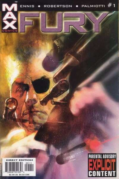 Fury comic books
