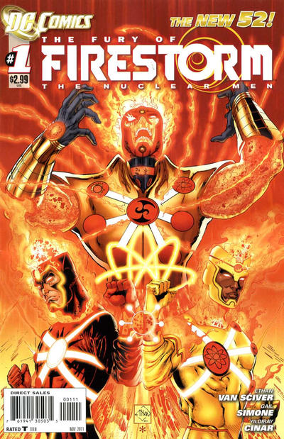 Fury of Firestorm: The Nuclear Men Comic Books. Fury of Firestorm: The Nuclear Men Comics.