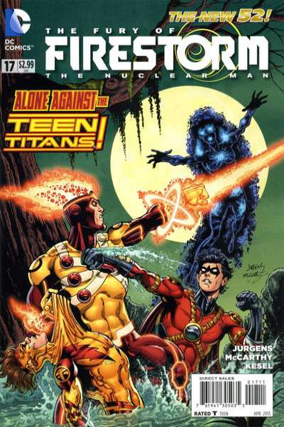 Fury of Firestorm: The Nuclear Men #17 Comic Books - Covers, Scans, Photos  in Fury of Firestorm: The Nuclear Men Comic Books - Covers, Scans, Gallery