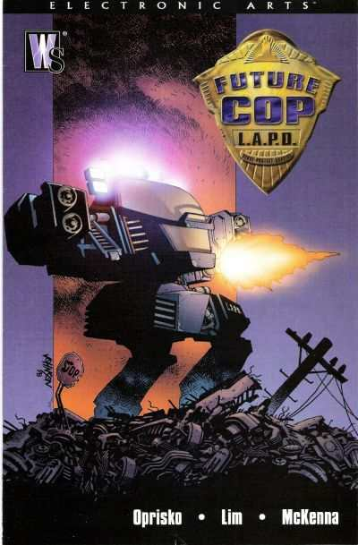 Future Cop L.A.P.D. #1 comic books - cover scans photos Future Cop L.A.P.D. #1 comic books - covers, picture gallery