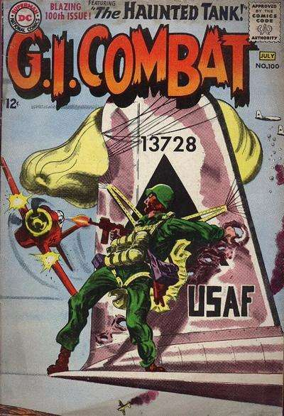G.I. Combat #100 comic books for sale
