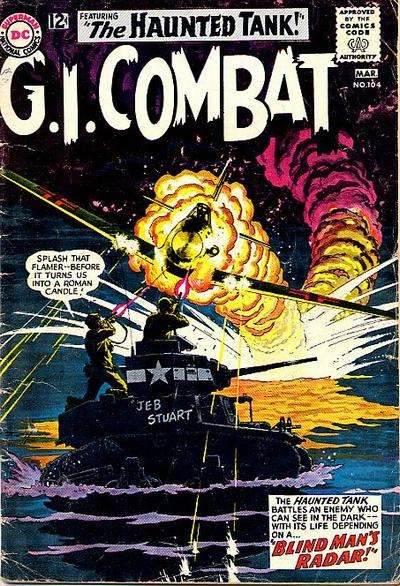 G.I. Combat #104 Comic Books - Covers, Scans, Photos  in G.I. Combat Comic Books - Covers, Scans, Gallery