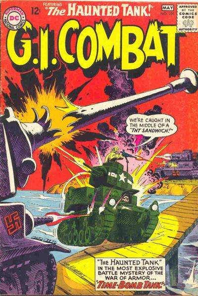 G.I. Combat #105 comic books for sale