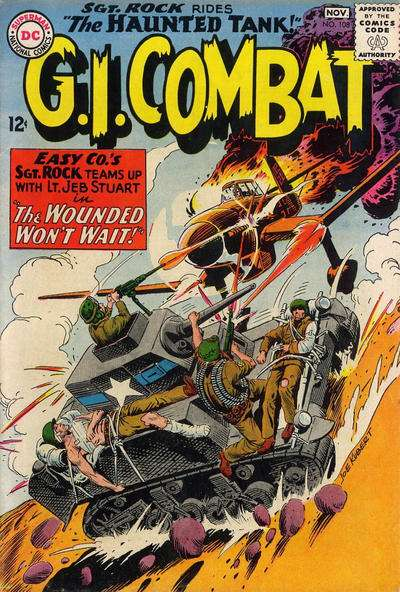 G.I. Combat #108 comic books for sale