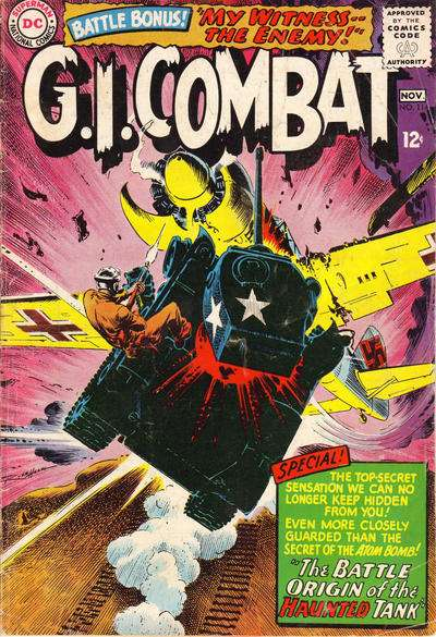G.I. Combat #114 Comic Books - Covers, Scans, Photos  in G.I. Combat Comic Books - Covers, Scans, Gallery